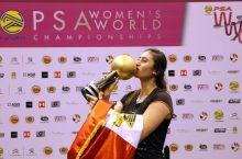 Първа световна титла за египтянка в скуоша