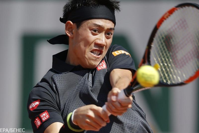 Кей Нишикори за Tennis24.bg: Промених нещата при 1:3 гейма