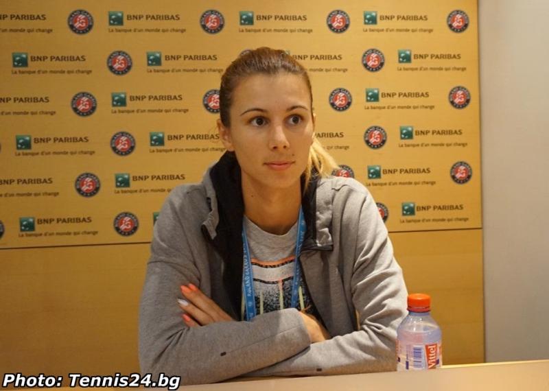 Пиронкова пред Tennis24.bg: Задачата ми беше да спечеля по най-бързия начин