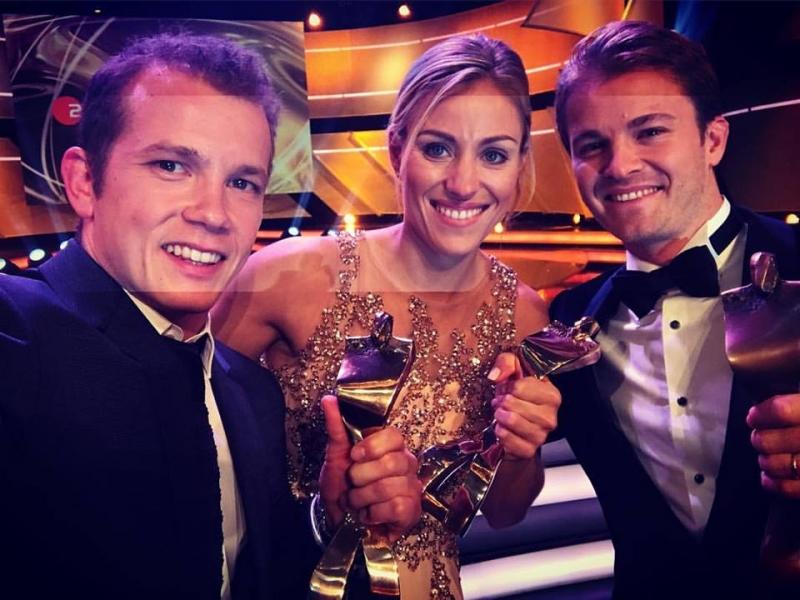 Кербер е най-добрата спортистка на Германия