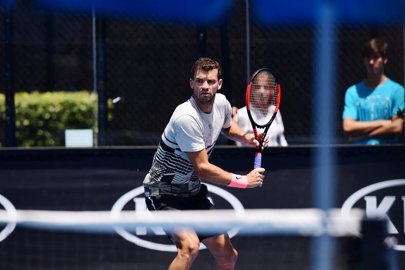 Григор се подготвя здраво за Australian Open (видео)