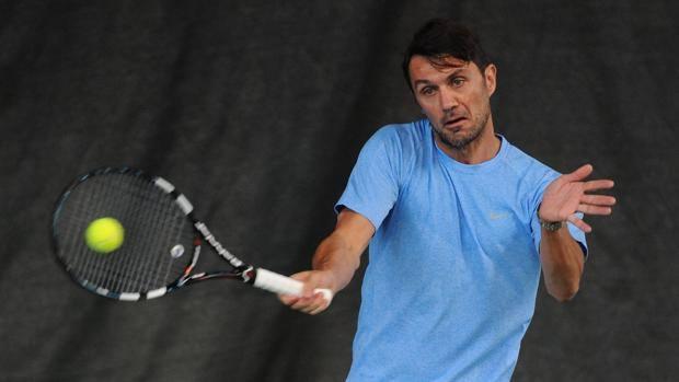 Паоло Малдини дебютира в професионалния тенис