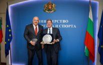 Министър Кралев се срещна с Дейвид Хагърти