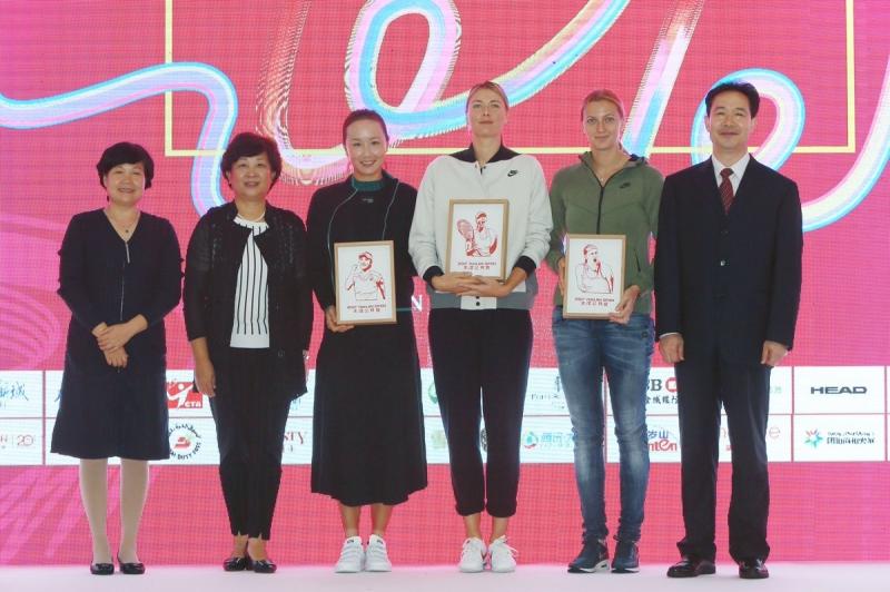 Шарапова извади късмет на старта в Тянжин