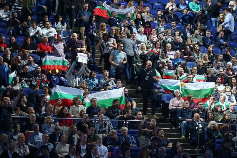 Българските фенове завладяха О2 Арина