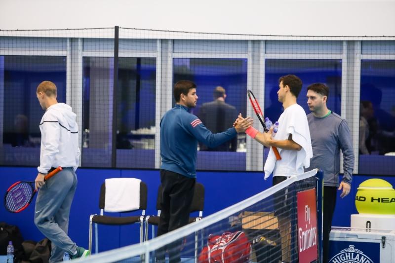 Григор загря за Тийм със спаринг с треньора