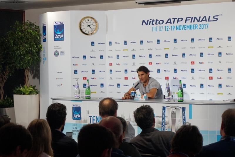 Рафа Надал пред Tennis24.bg: Тук съм, това е важното