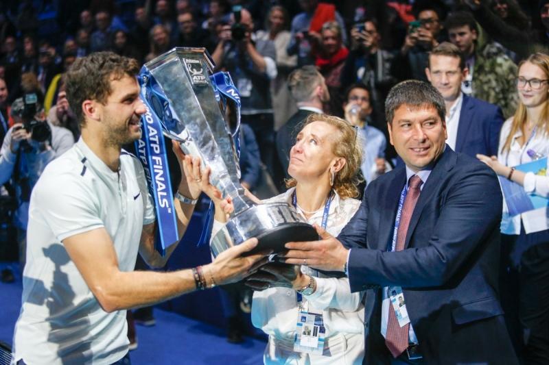 Роджър за Димитров: Изглеждаше свеж през цялата седмица