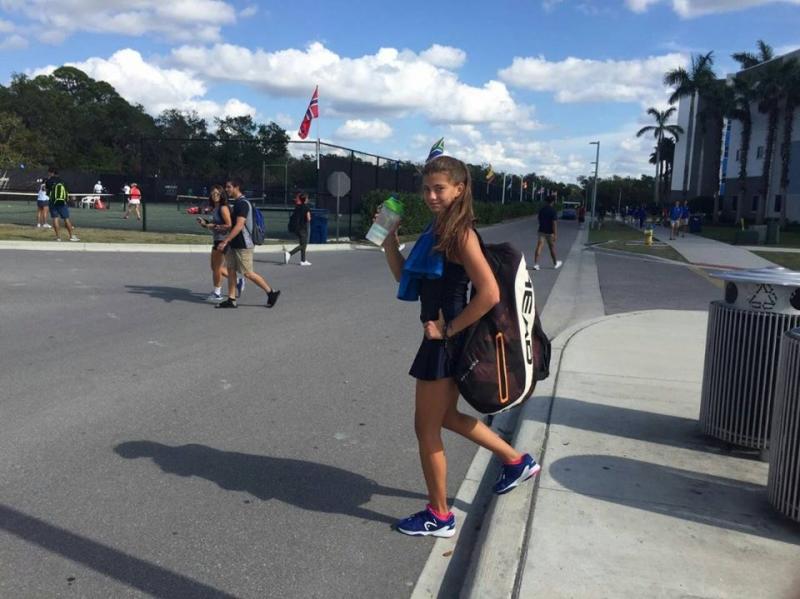 Дария Радулова се класира за третия кръг на Orange Bowl