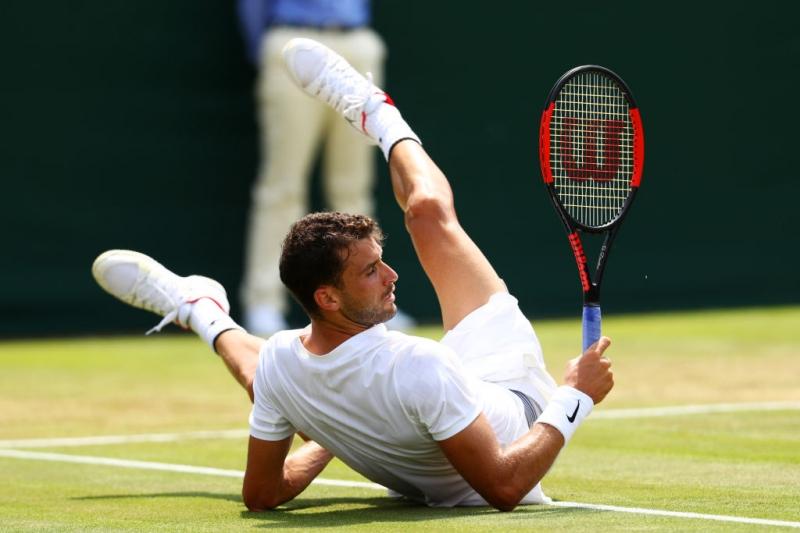 Димитров сред десетте най-забавни тенисисти