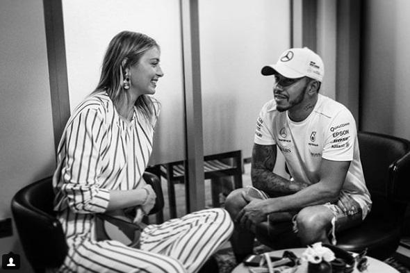 Маша поздрави световния шампион във Формула 1