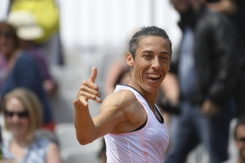 Шампионка от Ролан Гарос на победа от основната схема