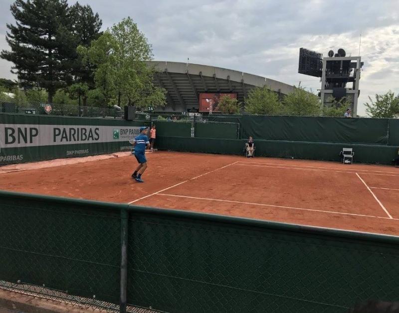 Андреев се класира на 1/8-финал на Ролан Гарос