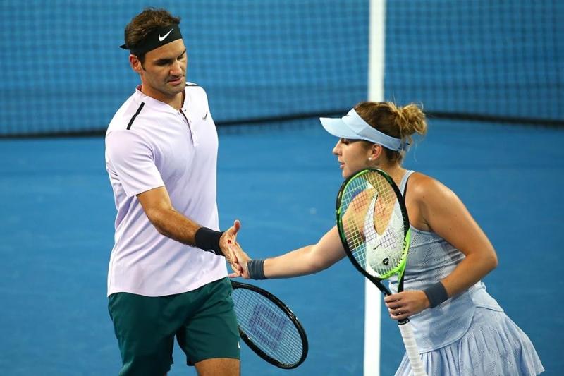 Федерер отново ще си партнира с Бенчич
