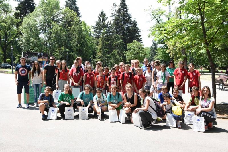 Над 2000 деца се включиха в спортния празник на СПРИНТ и Viasport.bg