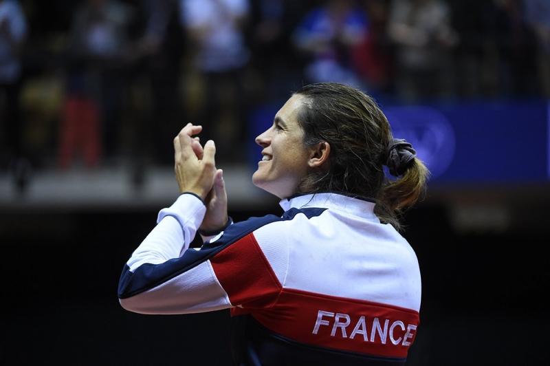 Жена застава начело на отбора на Франция за Купа Дейвис