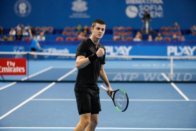 Лазаров с поражение на финала в Тунис