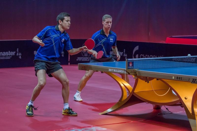 Александров и Коджабашев близо до четвъртфинал срещу Ма Лонг и Сю Син