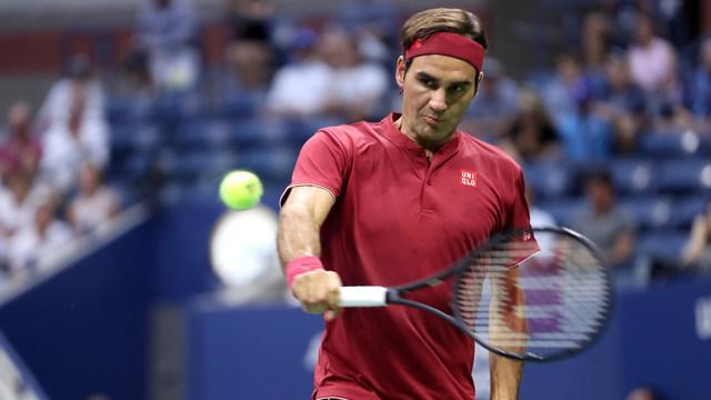 Федерер прелетя през първия кръг на US Open