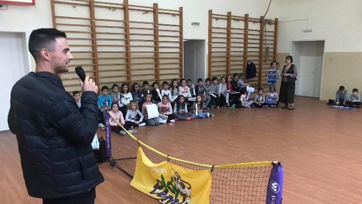 Кузманов вдъхнови деца от пловдивско училище