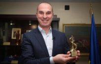 Петър Бакърджиев спечели наградата за спортна журналистика