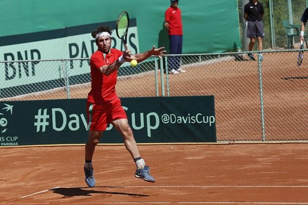Васко Младенов е на четвъртфинал в Естония