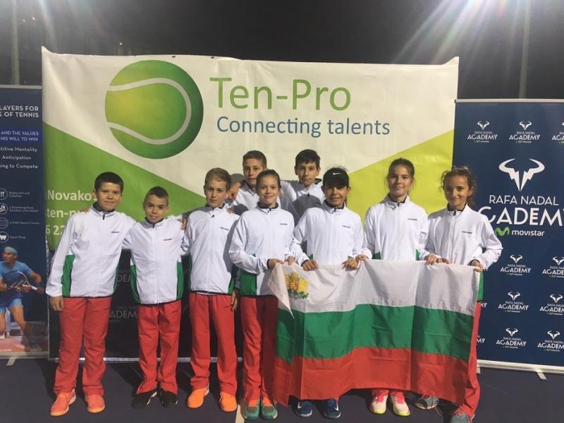 10 българчета на турнир в академията на Надал в Майорка