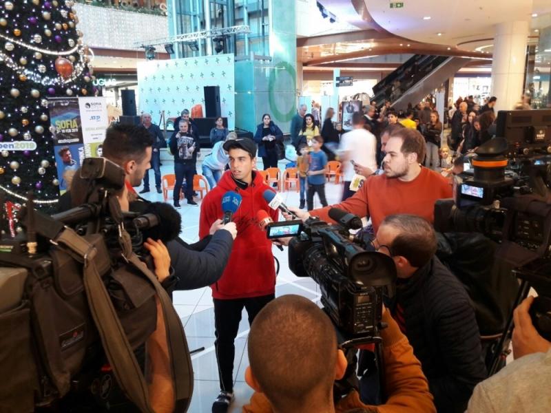 Андреев: Целта ми са турнирите от Шлема (видео)