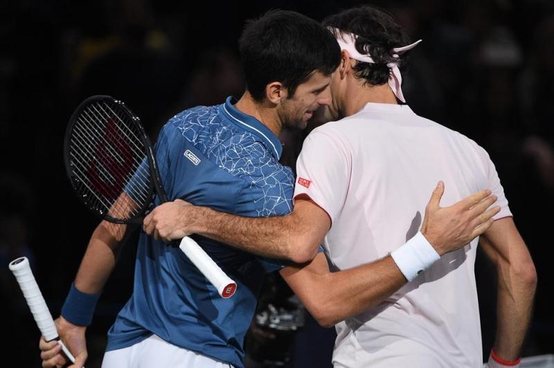 Джокович и Федерер поднесоха сензацията на сезона