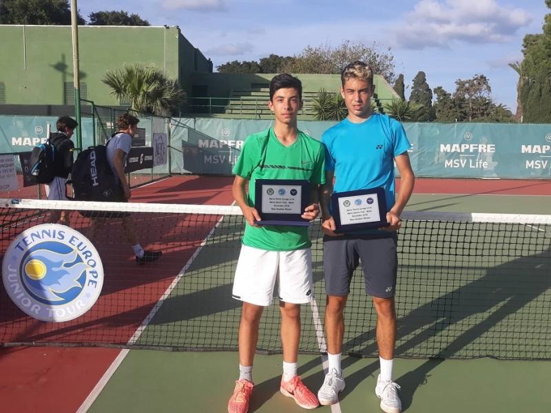 Попов и Динев спечелиха титлата в Малта