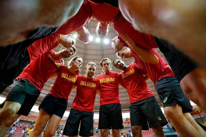 Белгия, Русия, Колумбия и Чили - последните финалисти за Купа Дейвис