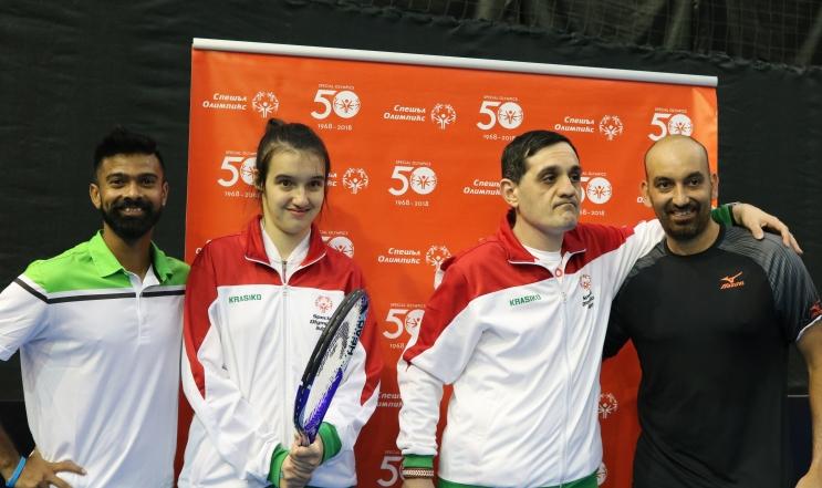 България с двама атлети в тениса на Спешъл Олимпикс