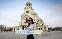 Посланикът на Sofia Open Рейчъл Стълмън вече се наслаждава на града и турнира (снимки)