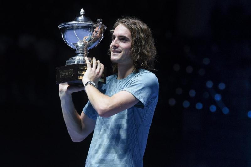 Циципас с втори трофей в кариерата си