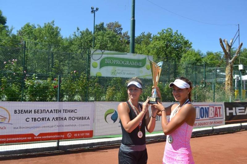 Българска двойка е на полуфинал