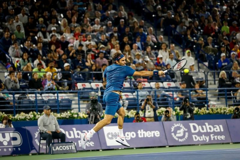 Федерер в Топ 4 в Дубай