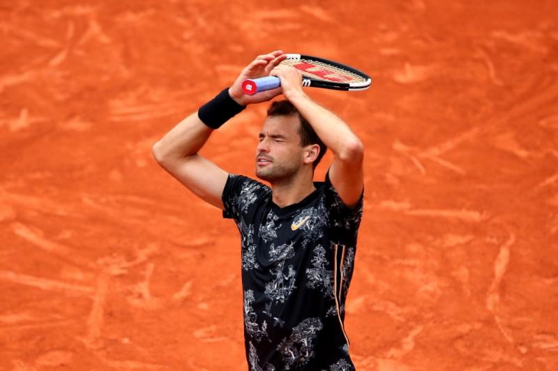 Страхотната победа на Григор Димитров в снимки
