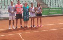 Генов и Глушкова – шампиони до 18г. на Държавното лично първенство