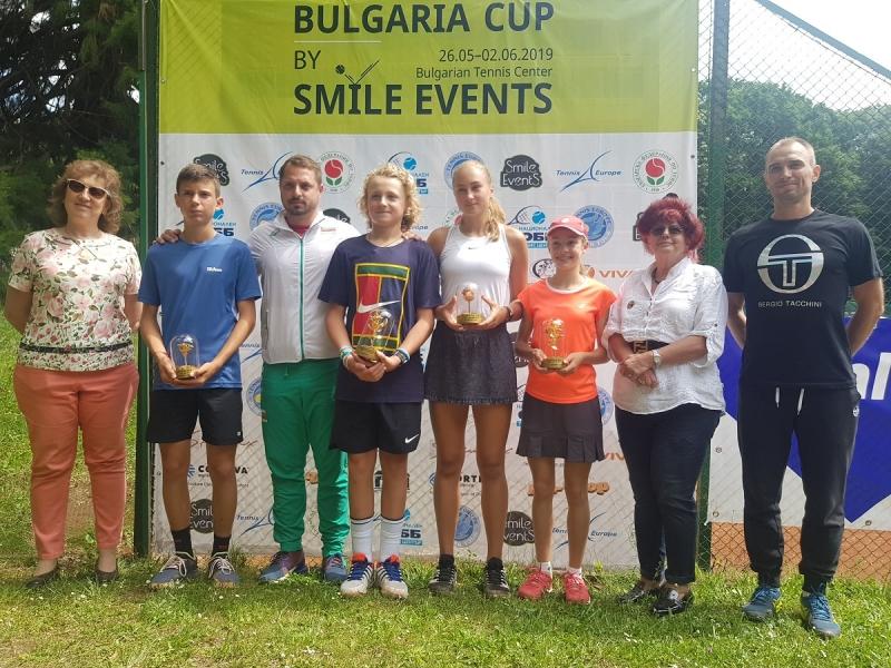 Прогрес в ранглистата за българските тенисисти след Bulgaria cup