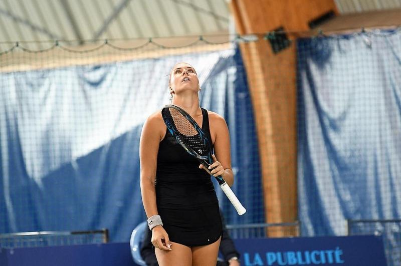 Терзийска загуби финала на двойки и полуфинала на сингъл