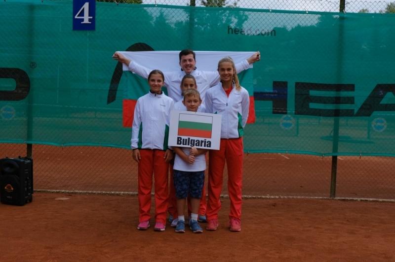 България - в топ 5 на Европа в детско-юношеския тенис