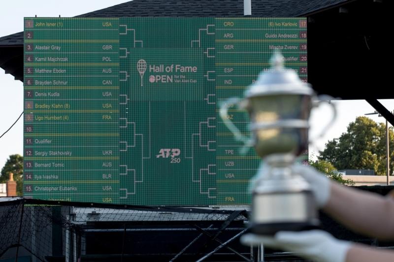 Световният №188 детронира шампиона в Нюпорт