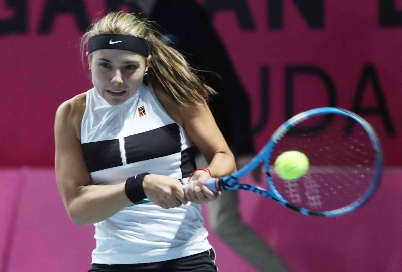 Виктория Томова даде само три гейма на румънка