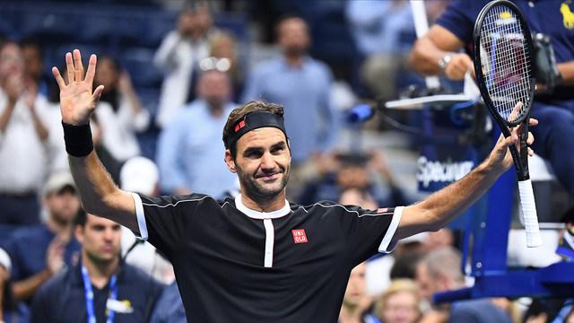 Федерер започна US Open с изненадващо трудна победа
