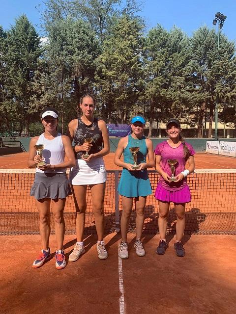 Катерина Димитров с трофея с Македония