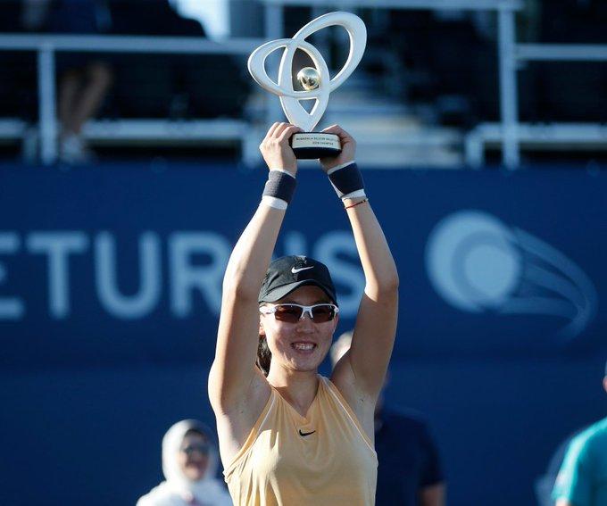 Китайка спечели първа титла в кариерата си
