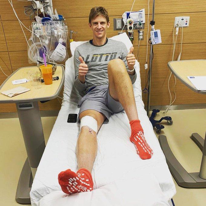Андерсън се оперира, сезонът му приключи