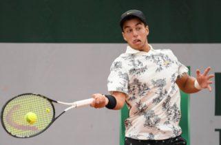 Андреев се завърна на корта с убедителна победа