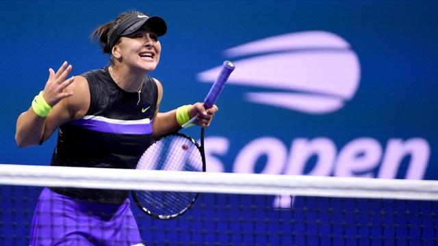 Бианка Андрееску на финал на US Open при своя дебют