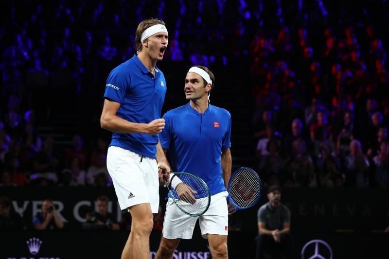 Федерер и Зверев с убедителен успех на двойки